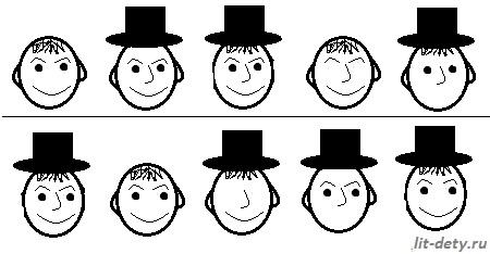 Выделение главных и второстепенных признаков предмета на основе сравнения и обобщения (1 класс)