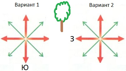 ориентирование на местности 3 класс