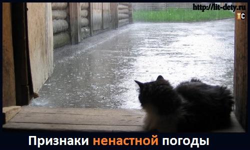 ненастная погода картинки