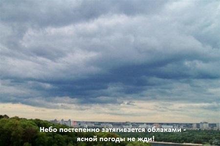 приметы ненастной погоды
