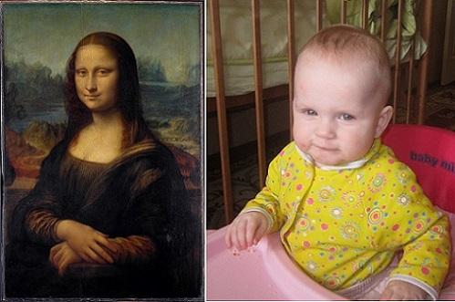 "Живые картины: ""Мона Лиза"" Леонардо да Винчи и ""Мона Ульяна"""